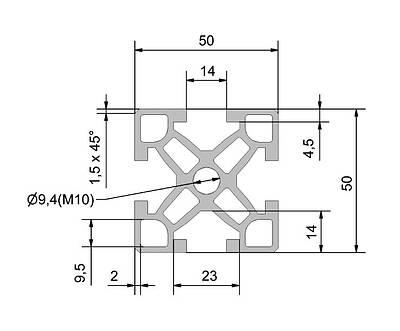 syspro modular automation system belt conveyor. Black Bedroom Furniture Sets. Home Design Ideas